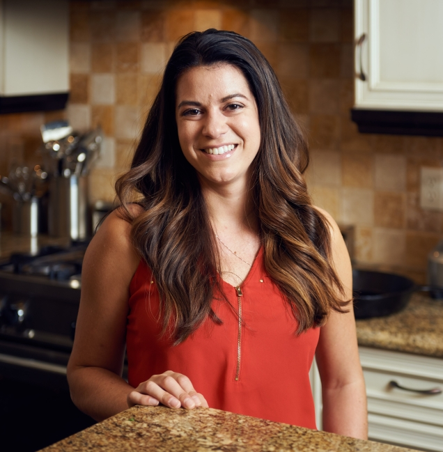 Stephanie Hanna, co-creator of Roc'n Kitchen, Rochester, NY. Photo by Brandon Vick, http://www.brandonvickphotography.com/